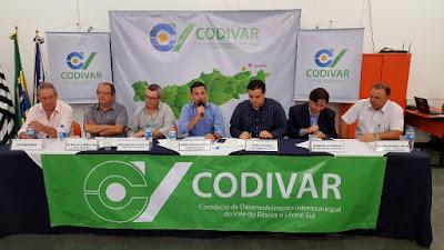 Em nova iniciativa para integrar as cidades,  Codivar cria Parlamento Regional