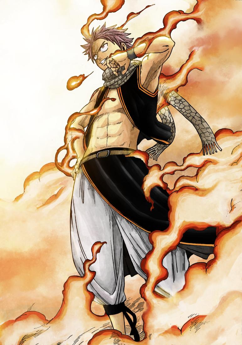 Anime Wallpapers: Protagonists: Natsu Dragneel