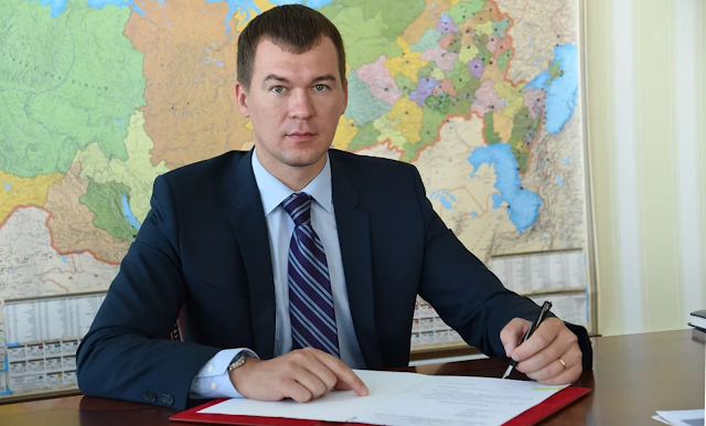 М. Дегтярев снимает «маску» и устанавливает в Хабаровском крае свои порядки