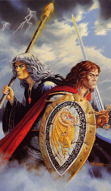 Recordando la Dragonlance - Caramon y Raistlin