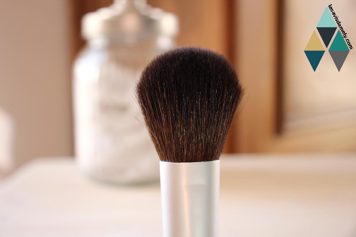 revue pinceau makeup teint poudre t.leclerc