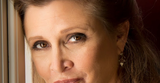 Carrie Fisher has died. Princess Leia lives on.