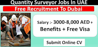 Quantity Surveyor – Civil Job Recruitment in Intl Contracting Company Dubai