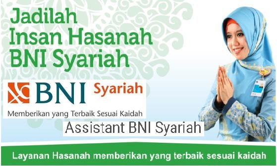 Lowongan Kerja Assistant Development Program Batch 24 PT Bank BNI Syariah Januari 2017