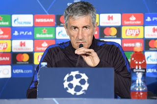 Setien:  we Barcelona have not lost our identity