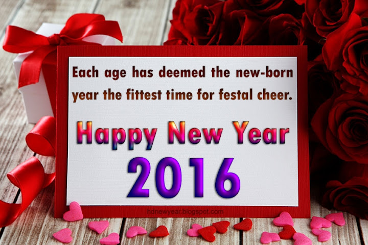 Happy New Year Lovely Quotes 2016 Image