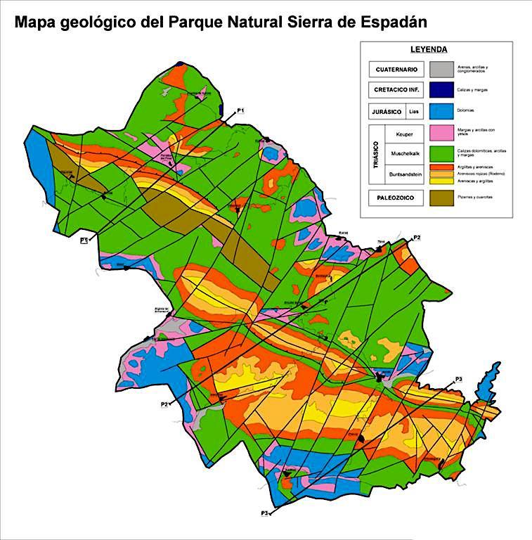 Mi Geoblog Geologia Y Más Geologia De La Sierra Del