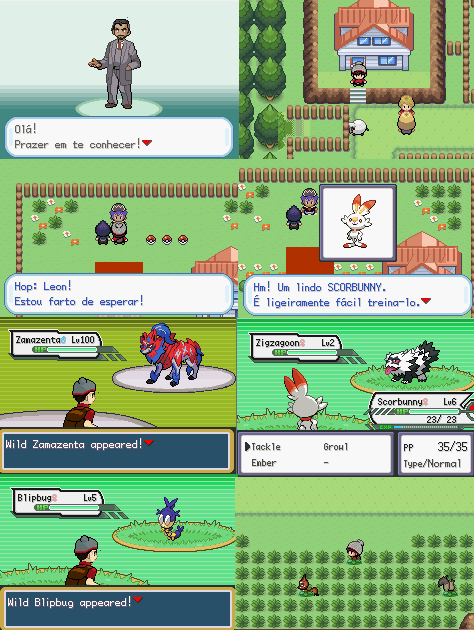 Pokemon Sword & Shield GBA ROM Download