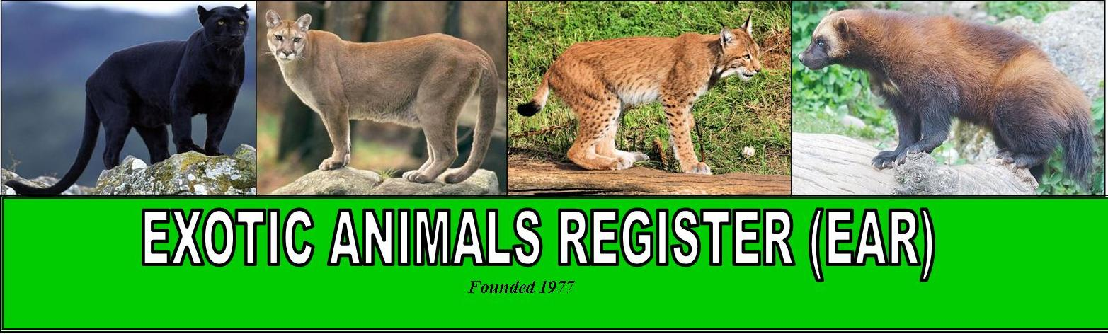 Exotic Animals Register