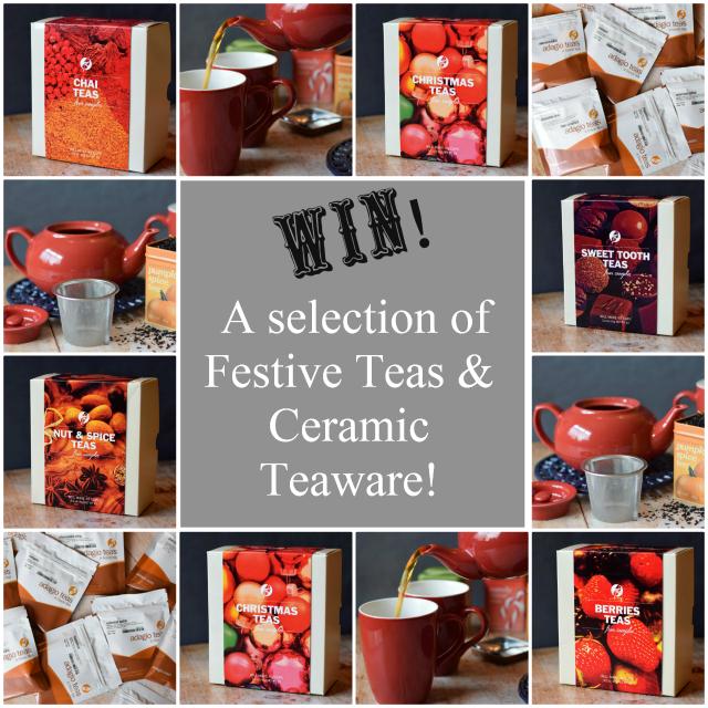Adagio Tea samples & ceramic teaware