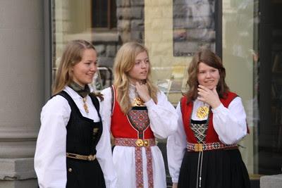 Norge Bunader Norwegian folk costume