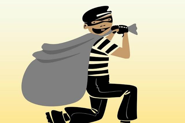 सेवानिवृत्त भुमि अभिलेख ऊप अधीक्षक के.ना.जेटेवाड यांच्या निवासस्थानी चोरी.. NNL
