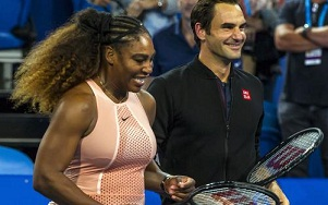 Roger Federer and Serena william will also take part in a charity tennis match for bushfire in Melbourne Park on 15 Jan.