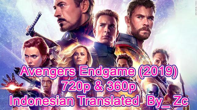 Avengers Endgame (2019) 720p & 360p Bahasa Indonesia