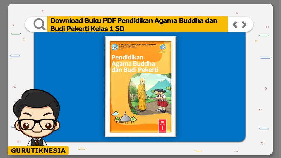 download buku pdf pendidikan agama buddha dan budi pekerti kelas 1 sd