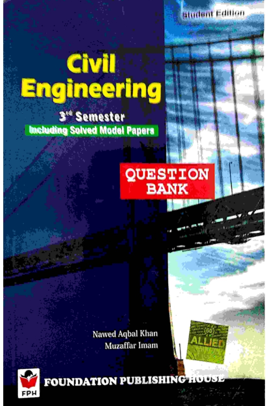 Question Bank of Civil 3rd Semester Bihar Polytechnic