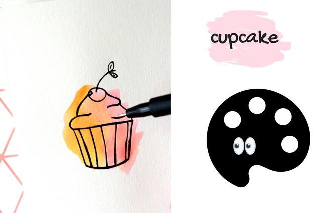 cupcake malen