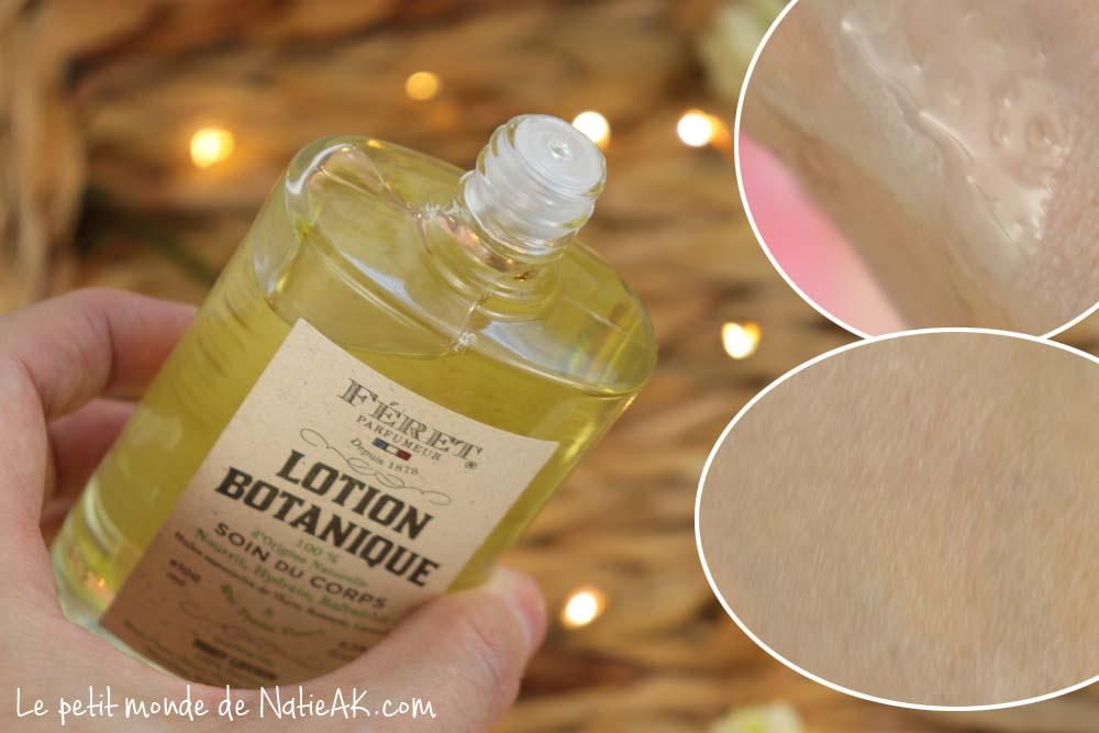 lotion botanique Féret parfumeur avis