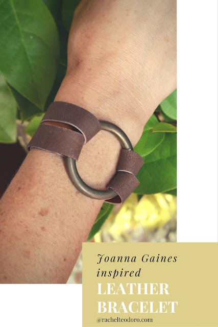 leather jewelry, Joanna Gaines style, knock off Magnolia Market,