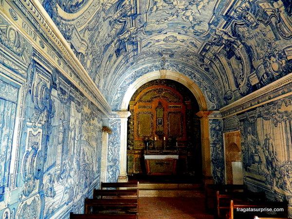 Capela do Castelo de São Filipe em Setúbal, Portugal