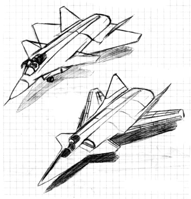 military and mercial technology russia future pak dp mig 41 Black and White Sputnik paralay