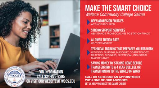 Wallace Community College Selma | Demopolis Fall Registration Begins July 7, 2021