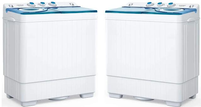 2-  KUPPET Compact Twin Tub Portable Washing Machine