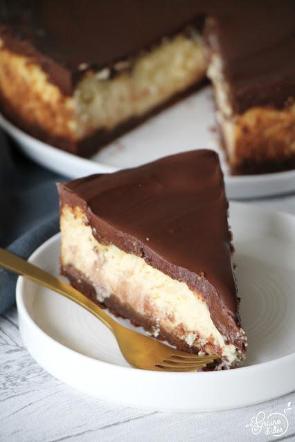 Cheesecake Américain Nocciolata Chocolat Recette Facile Rapide