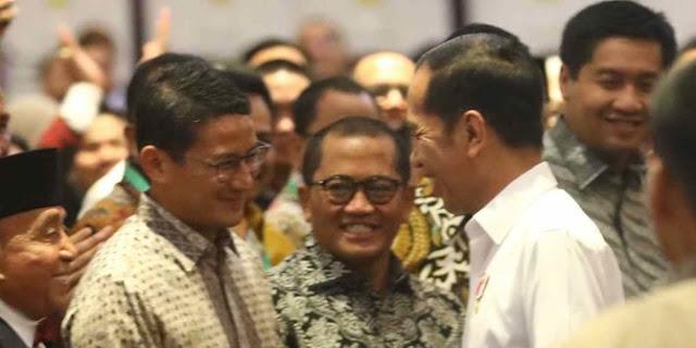 Jokowi Dukung Sandi vs Paloh Usung Anies di Pilpres 2024? Seru nih