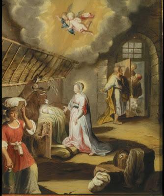 La Naissance de Jesus d'après Barocci (1744), Anna Maria Barbara Abesch
