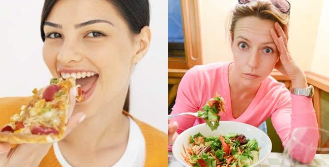 What makes foodies happy and dieters sad?