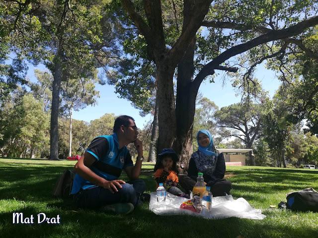 Percutian Perth Picnic King Park & Botanic Garden
