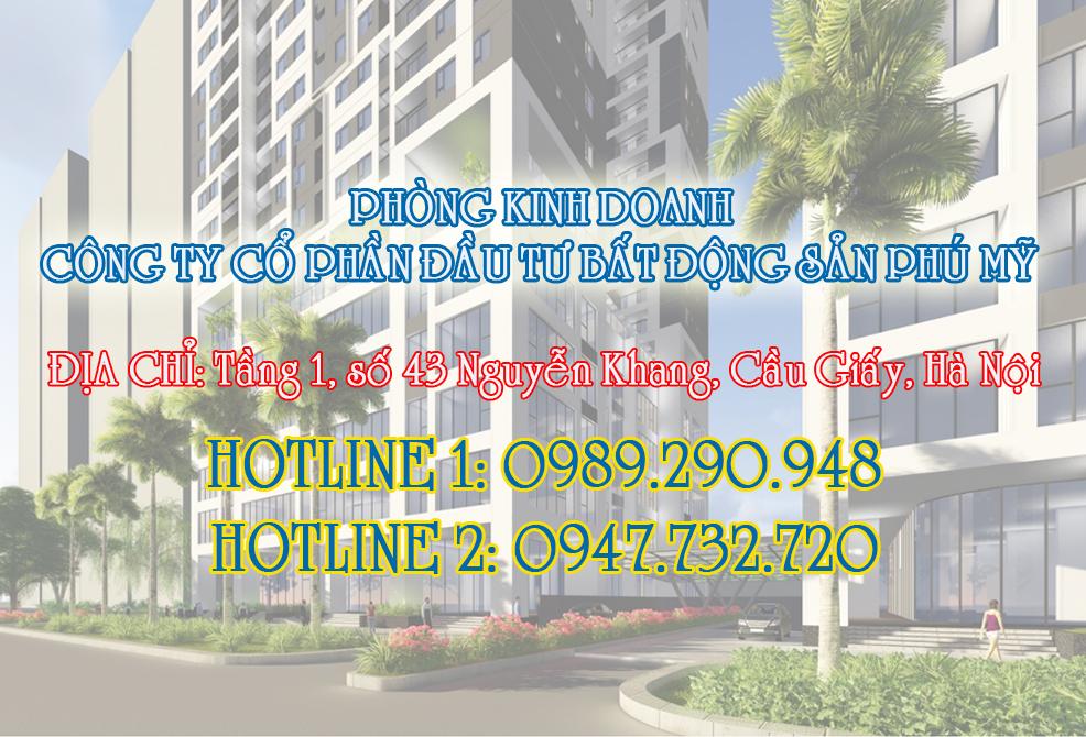 Sắp mở bán chung cư Phú Mỹ Complex - N01T4 Ngoại Giao Đoàn