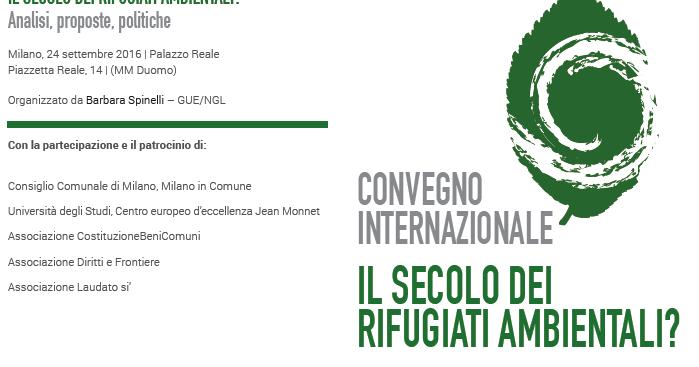 La scimmia cieca: il convegno di Milano sui rifugiati ambientali