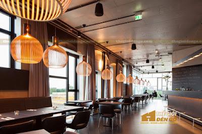 Thế Giới Đèn Gỗ - Những mẫu đèn trang trí quán cafe tuyệt đẹp 10