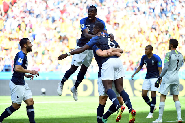 France 2-1 Australia: Paul Pogba wins it for Les Bleus (Official Match Highlights)