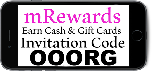 mRewards Invitation Code, Referral Code, Sign UP bonus and Reviews 2018-2019
