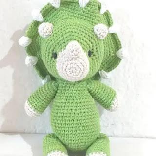 Amigurumi Dinosaurio a Crochet