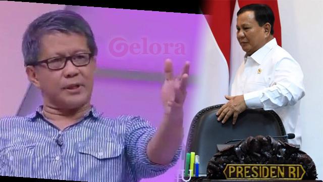 Jadi Menhan, Prabowo Bisa Ambil Alih Kekuasaan Jokowi? Begini Penjelasan Rocky Gerung