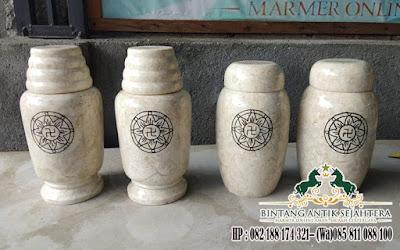 Tempat Abu Kremasi, Guci Onyx, Guci Abu Jenazah Onyx