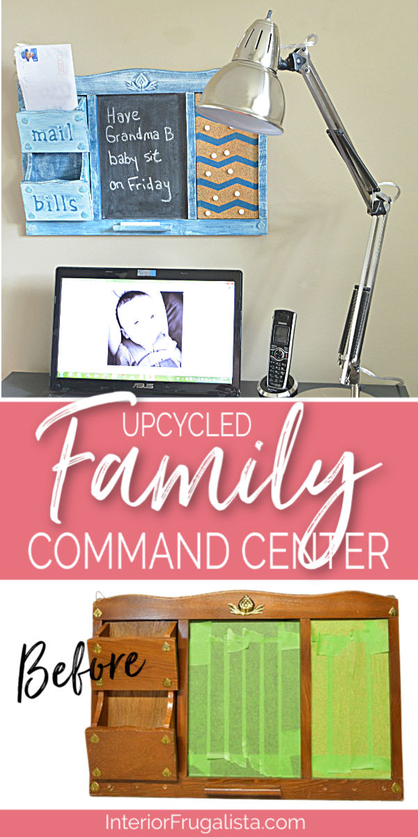 Upcycled Family Command Center