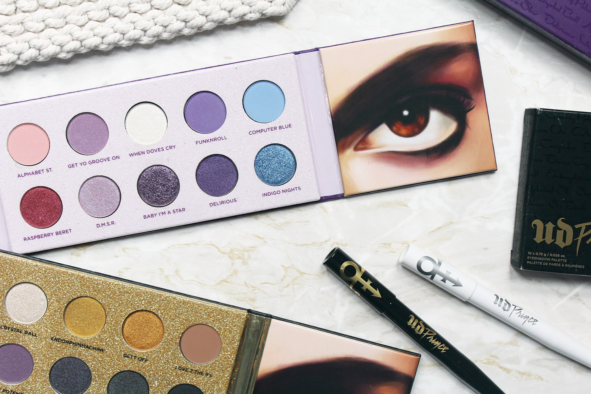 Urban Decay x Prince Collection Review & Swatches