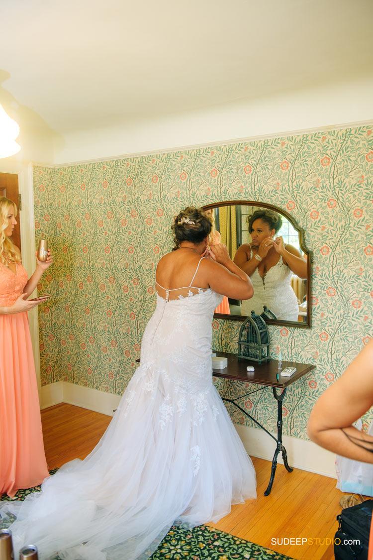 Ann Arbor Stone Chalet Inn Wedding Photography Getting Ready by SudeepStudio.com Ann Arbor Detroit Michigan Wedding Photographer
