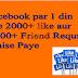 Facebook Auto Liker Se Fb Photo Par  1 Din Me 1000+ like paaye