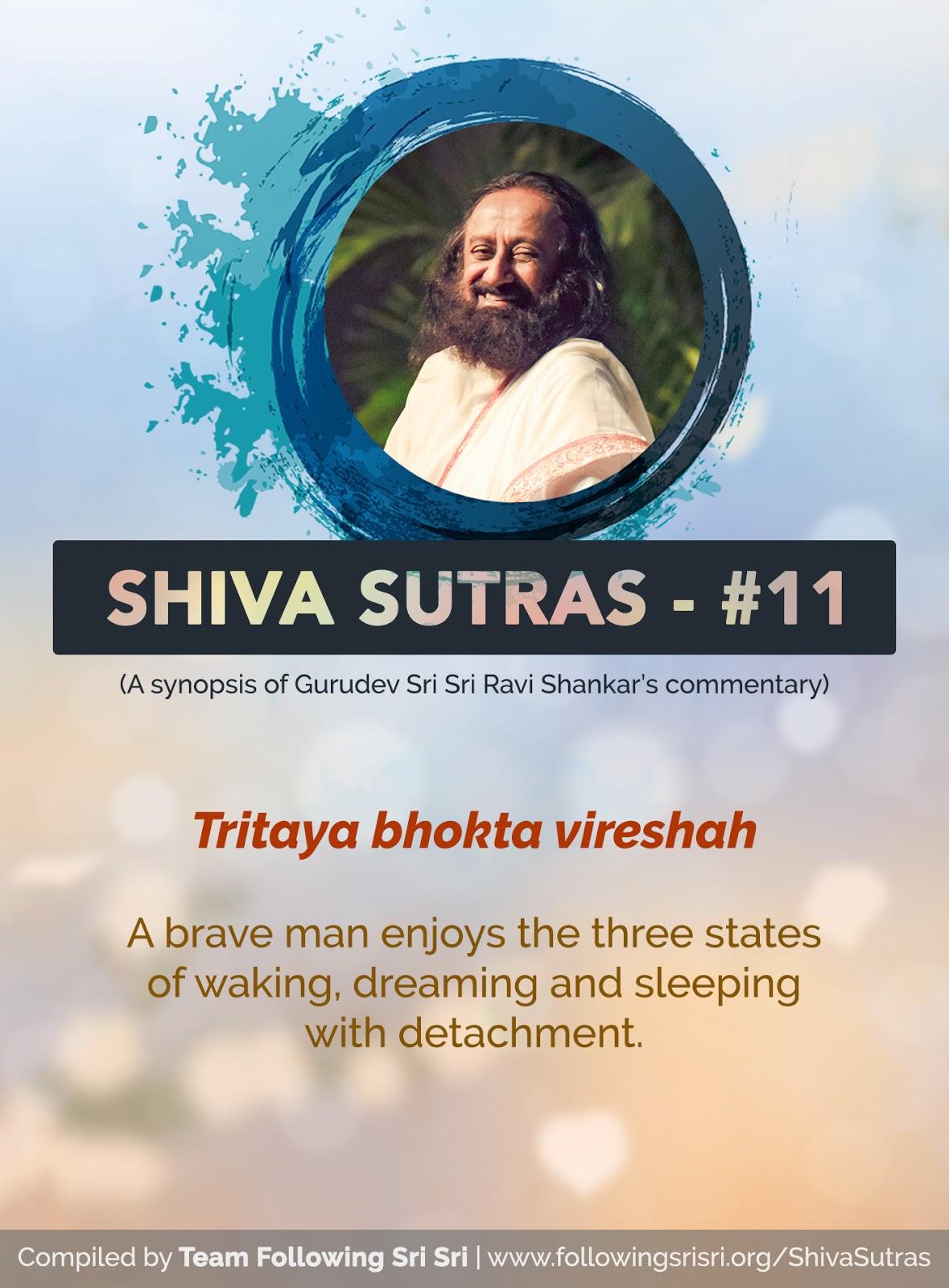 Shiva Sutras - Sutra 11