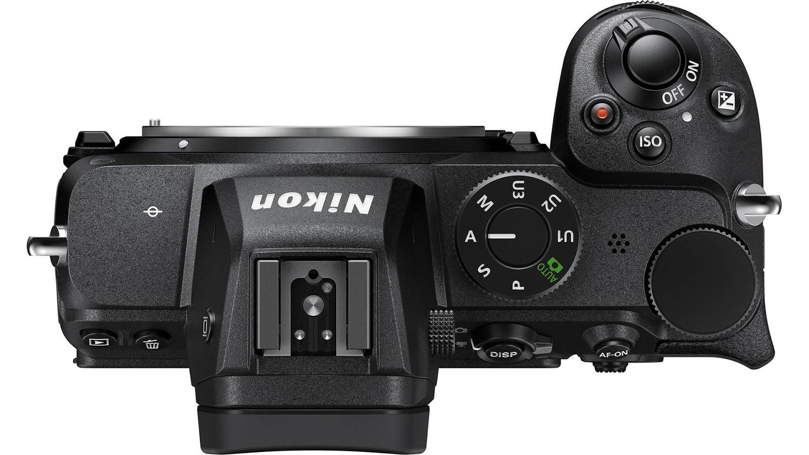 Nikon Z5, вид сверху