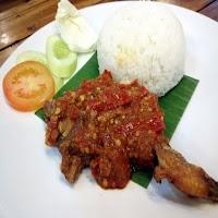 Ayam Penyet plus Nasi Putih Si7 Olshop