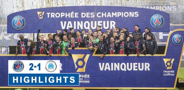 Paris Saint Germain vs Olympique de Marseille Highlights