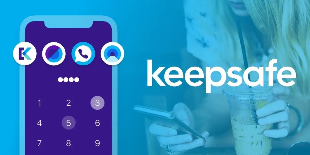 خزينة الصور  Keepsafe - هو تطبيق بسيط يحمي الصور والفيديو بكلمة مرور