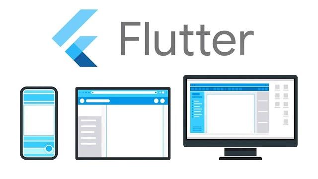 منصة تطبيقات الهواتف من جوجل Flutter.
